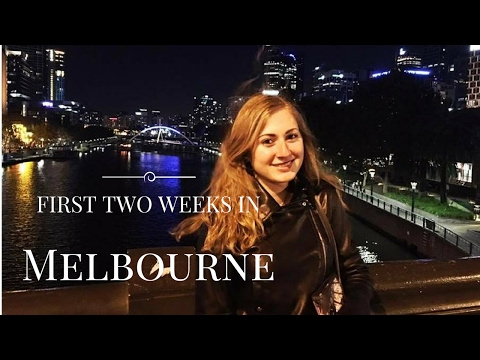 FIRST TWO WEEKS IN MELBOURNE || EXCHANGE STUDENT IN AUSTRALIA