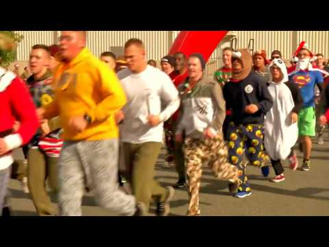 Japan; Marine Corps Air Station Iwakuni Jingle Bell Jog