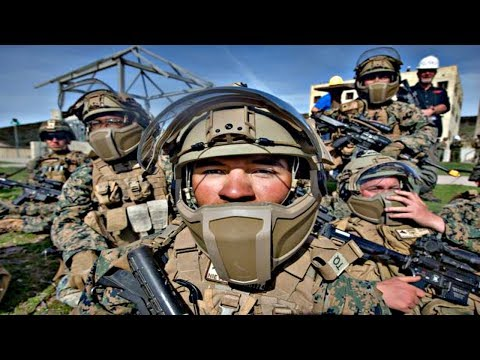 US Marines Future Combat Training Exercise With New Weapons And Gadgets
