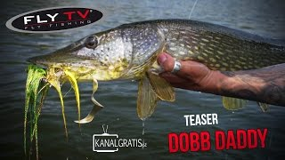 teaser fly tv dobb daddy pike fly fishing with fly and spinning rods