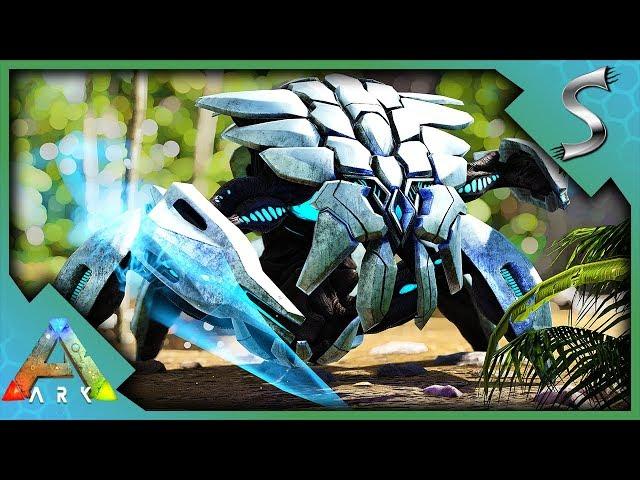 ARK TEK CREATURES! TEK DEFENSE UNIT & ATTACK DRONE! END GAME CREATURES! - Ark: Survival Evolved