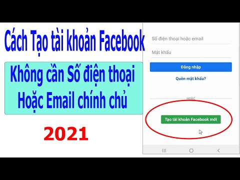 cách hack mật khẩu facebook không cần email - Cách tạo tài khoản Facebook mới không cần số điện thoại hoặc Email chính chủ