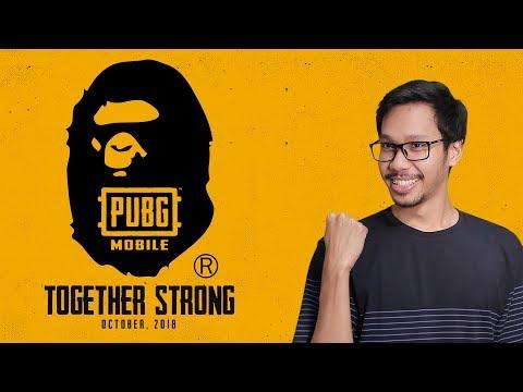 [LIVE] PUBG Mobile : Custom Room Berhadiah BAPE Crate Bersama BANG ALEX!