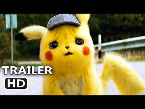POKÉMON DETECTIVE PIKACHU Trailer # 2 (NEW 2019) Mewtwo Movie HD