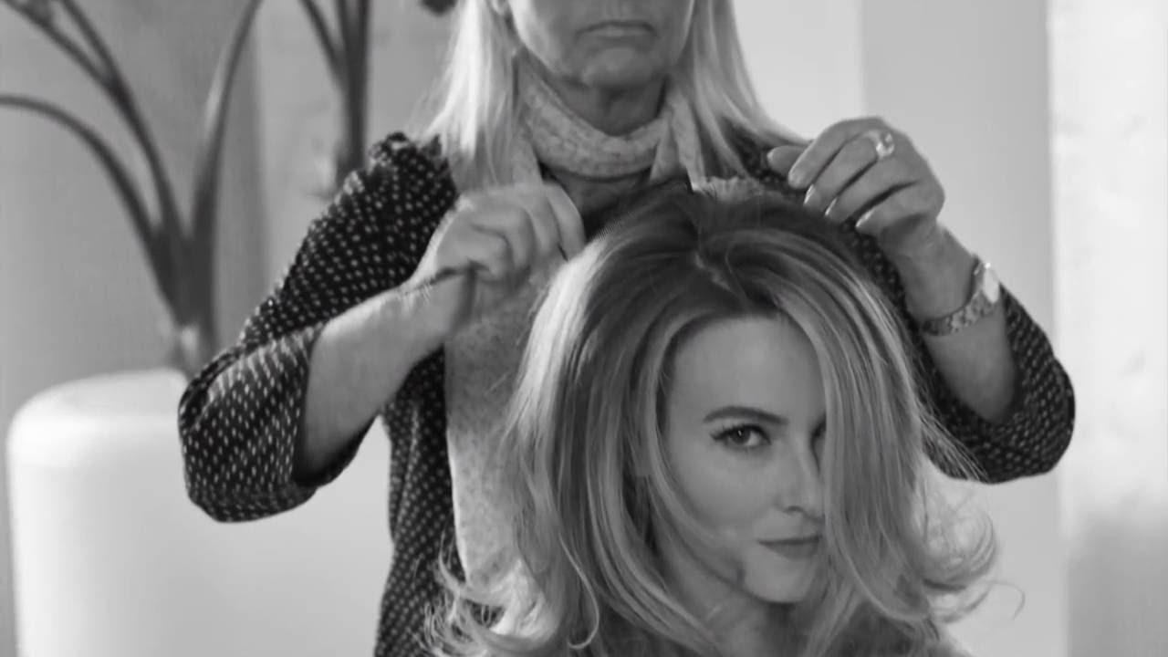 Pompadour Hamburg secret hair look blond ombre look mit balayage den