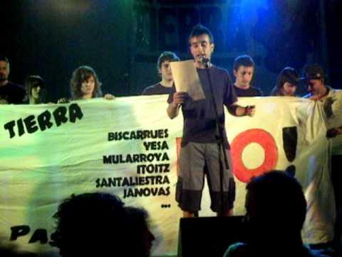 Artieda 2010 - Acto politico