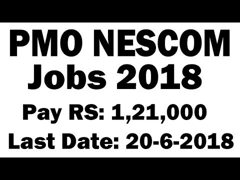 PO Box 2377 GPO Islamabad Jobs June 2018 PMO NESCOM