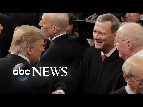Trump fires back after rebuke from Chief Justice John Roberts