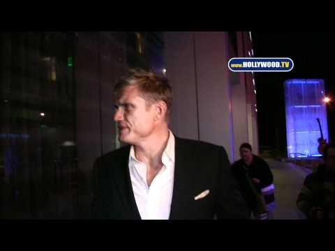 Dolph Lundgren Emerges From BOA