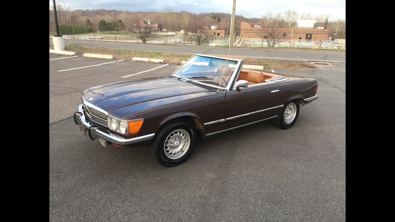 73 Mercedes 450SL For Sale - YouTube