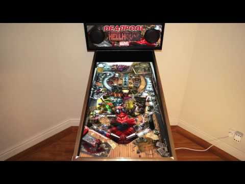 Zen Pinball - Deadpool (Cabinet Support)