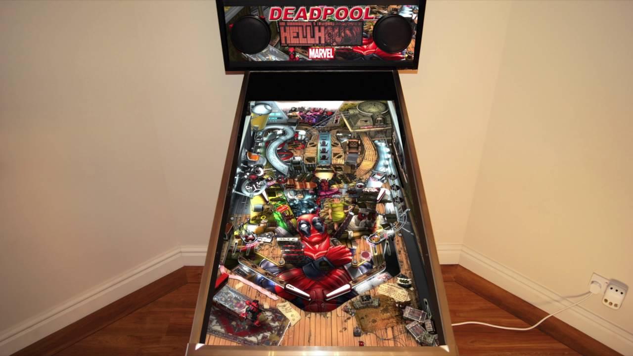 Zen Pinball - Deadpool (Cabinet Support)