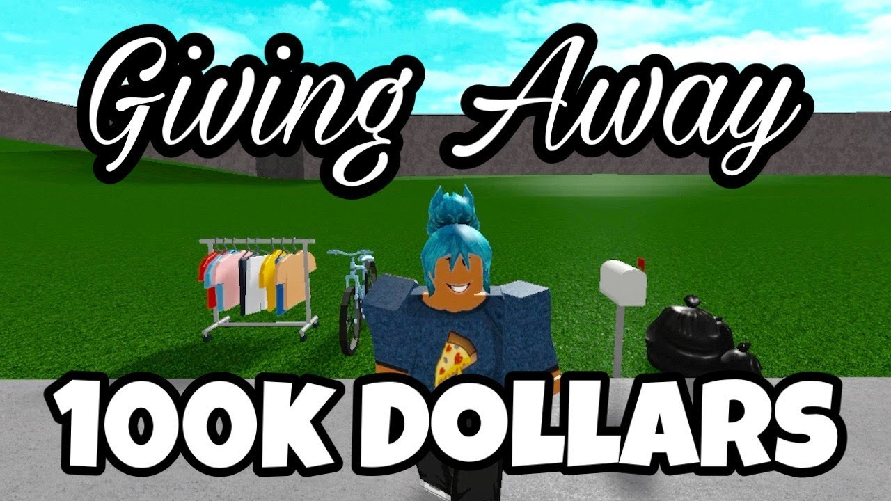 I ASKED PEOPLE TO DONATE ALL OF THEIR MONEY TO ME   Giving Away $100k (Ep.2)   Roblox