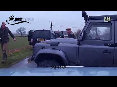 Sabs violently attacked by hunt supporters