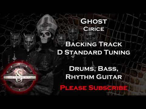 Ghost - Cirice - Backing Track + Rhythm Guitar