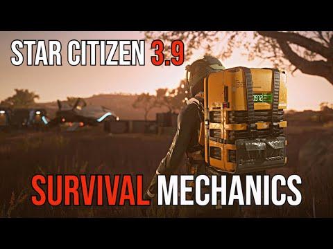Star Citizen 3.9 Survival Mechanics & Player Status - What We Know