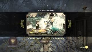 Krypt Location Cassie Cage Brutality: Beatdown -Garden of Despair (-5,7)- MKX