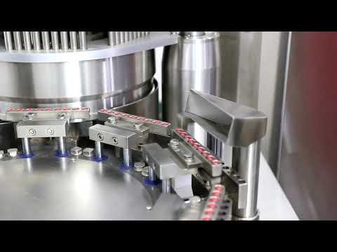 NJP-1200 Pharmaceutical Capsules Filling Machine Full ...