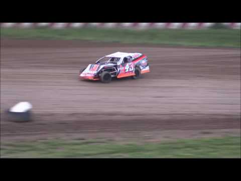 UMP Modified Heat #1 from Brushcreek Motorsports Complex, May 20th, 2017.