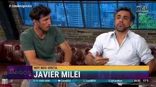 """""""El Gobierno hizo lo que yo dije que había que hacer"""" Javier Milei en Con amigos así"""