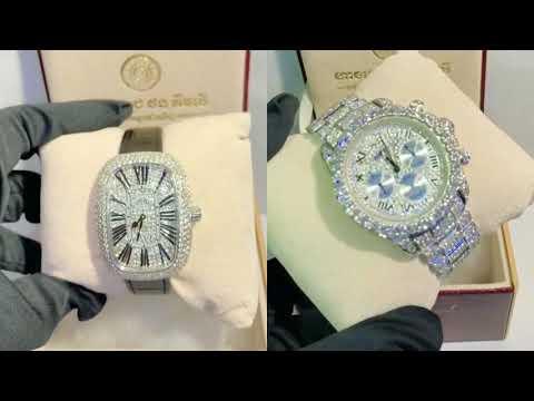 Diamond watches for men. Cambodia jewelry shop.