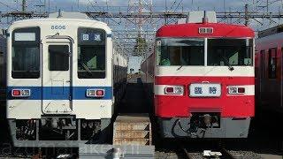 【南栗橋 8506F 1819F並び撮影】秩父鉄道イベントから戻って来た8506F、明日ラストランの1819F並び その他 南栗橋 留置車両撮影