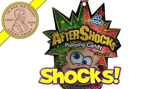 After Shocks Green Apple & Strawberry Popping Candy Pouches