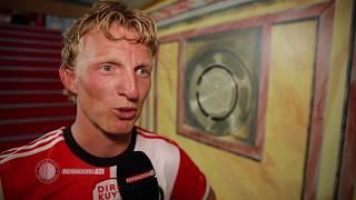 Dirk Kuyt na afscheidswedstrijd: 'Ik ben een bevoorrecht mens'