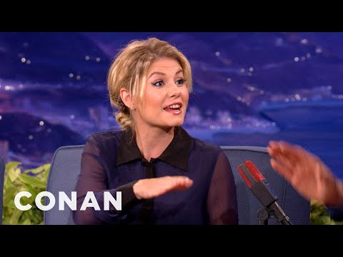 Elisha Cuthbert Is A Big Zumba Backer - CONAN on TBS