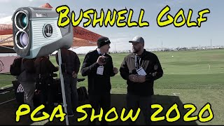 New Products from Bushnell Golf Booth at PGA Demo Day 2020