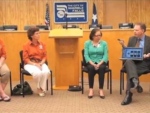 Texas secretary of state visits Marble Falls to educate voters | ThePicayuneTV
