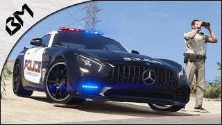 GTA 5 - LSPDFR - HIGHWAY PATROL - HOT PURSUIT POLICE - Grave accident - Patrouille 37