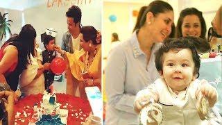 Tushar Kapoor's Son's Birthday Party With Taimur Ali Khan CUTE Playing & Mommy Kareena Kapoor