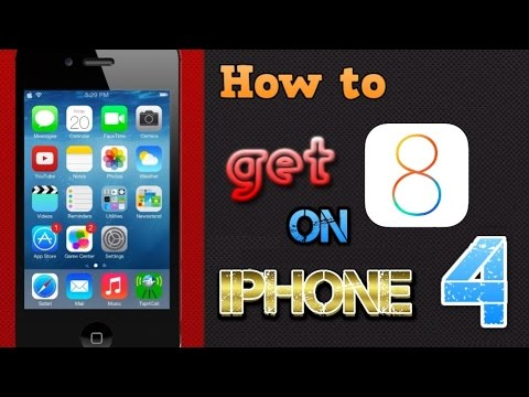 can you get ios 8 on iphone 4 updated how to get ios 8 for iphone 4 tutorial 20653