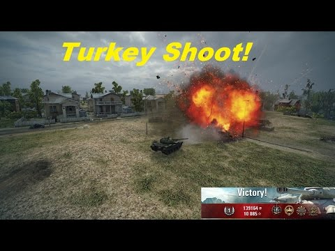 World of Tanks: T-54 Turkey Shoot