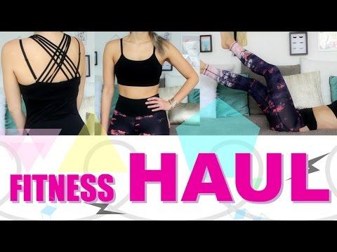Fitness Haul H&M Sport & bisschen ZARA   funnypilgrim
