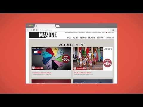 Mazone ma grandes marques prix discount youtube - Vente privee com grandes marques a prix discount ...