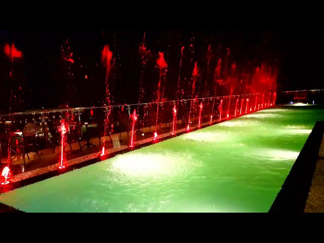 Get The Party Started Remix - Swimming Pool Dancing Fountain in Hoi An City