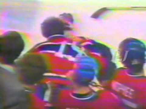 Larry Robinson vs Mike Milbury