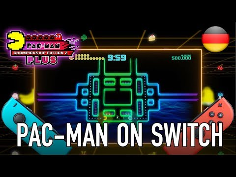 PAC-MAN Championship Edition 2 Plus - Official trailer for Switch (German)