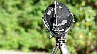 Heliograph Mk V Sun Signaling Mirror