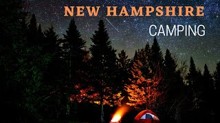 Camping in the Noŗth Woods of New Hampshire