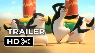Penguins of Madagascar Official Trailer #1 (2014) Benedict Cumberbatch Movie HD