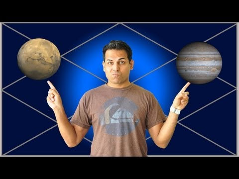 Mars vs. Jupiter as husband in a female's chart (Vedic Astrology)