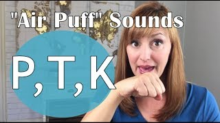 How to Pronounce the P, T and K Sounds in American English