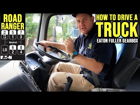 How To Drive A Truck With A Roadranger Gearbox  - Double the Clutch