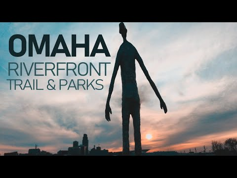 The Downtown Omaha Riverfront Trail & Parks