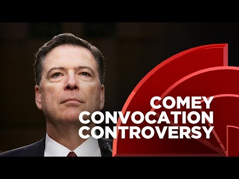 Howard Students Protest James Comey's Convocation Speech