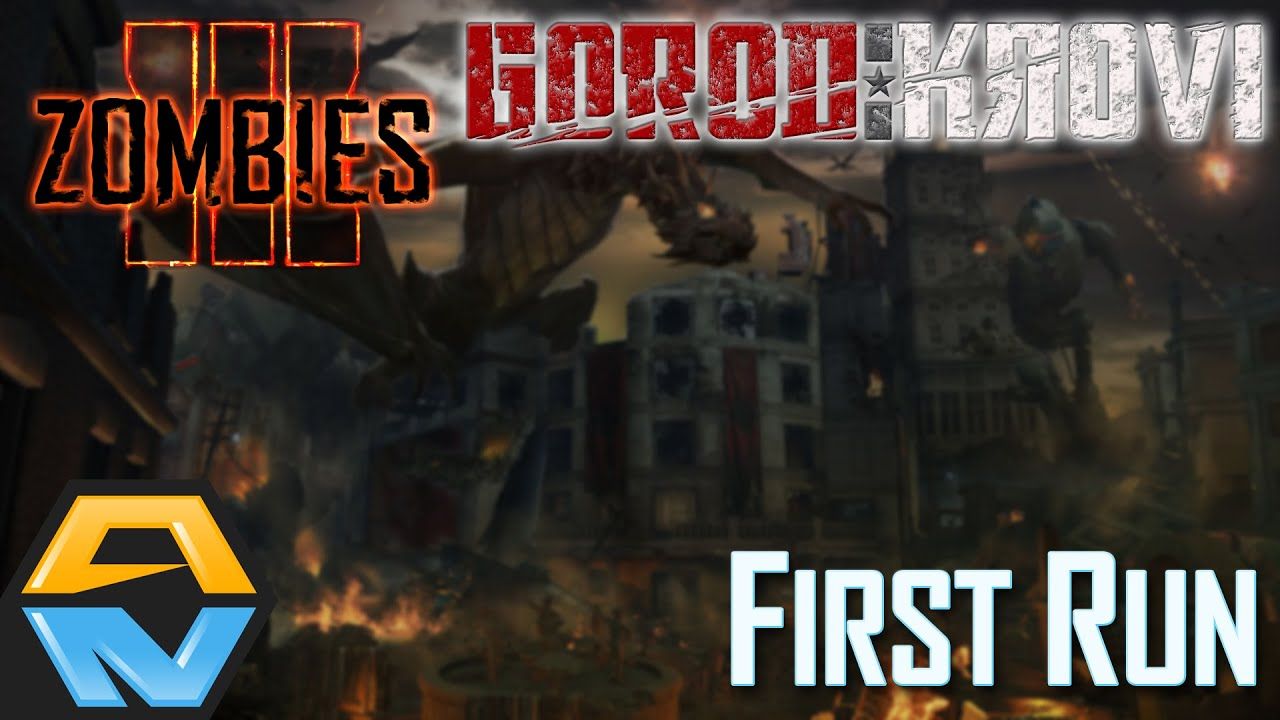 Gorod Krovi First Run Call Of Duty Black Ops Iii Zombies