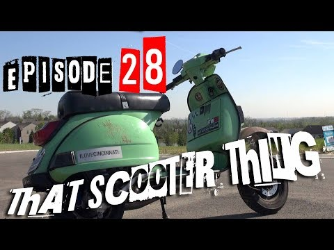 TST Ep. 28 (ft. Metro Scooter) - Stella LML Vespa full build with a Polini 177 and 20+ hp